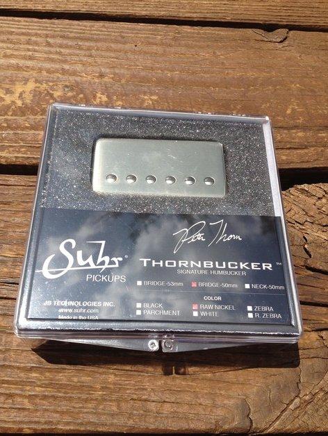 SUHR Thornbucker PAF Bridge Lead Humbucker Pickup Raw Nickel 50mm - Pete Thorn S