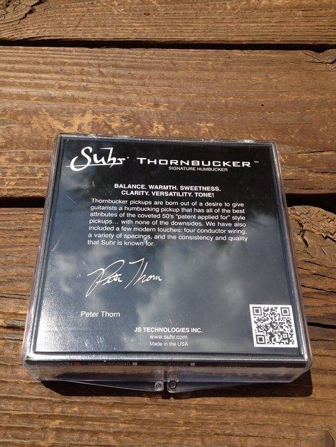 Image 1 of SUHR Thornbucker PAF Neck Rhythm Humbucker Pickup Black 50mm - Pete Thorn Signat