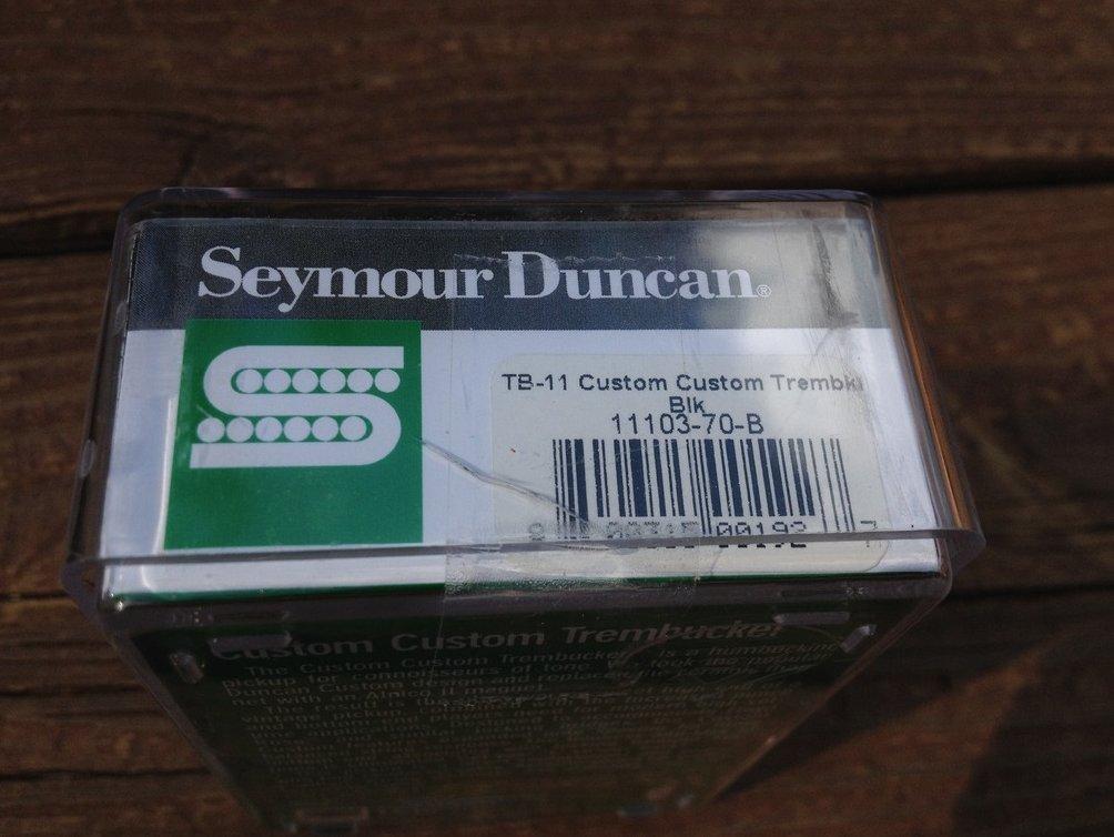 Image 2 of Seymour Duncan TB-11 Custom Custom Bridge Trembucker Black Humbucker Pickup