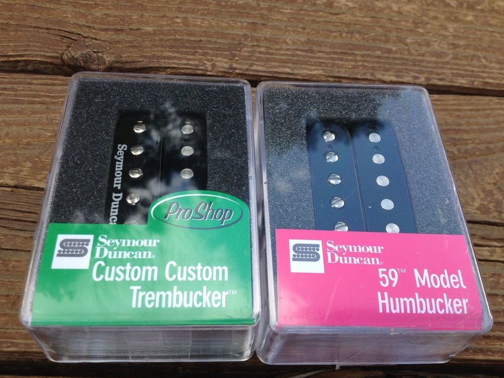 Seymour Duncan TB-11 Custom Custom SH-1N 4C 59 Humbucker Pickup Set Black