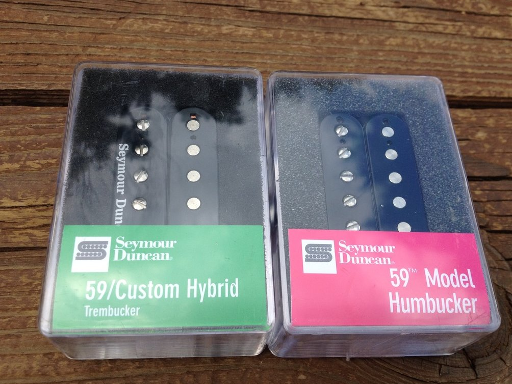 Seymour Duncan TB-16 59 Custom Hybrid / SH-1N 59 4 Conductor Set Black