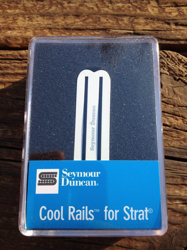 Seymour Duncan SCR-1n Cool Rails for Strat White NECK Pickup 11205-06-W