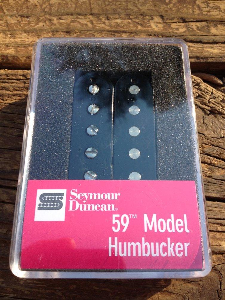 Image 0 of Seymour Duncan SH-1b 59 Model Bridge Humbucker Pickup BLACK 11101-05-B