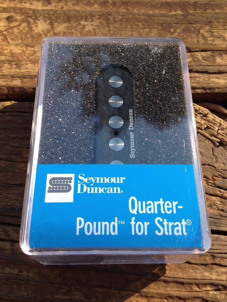Seymour Duncan SSL-4 Quarter Pound Flat for Strat Alnico V High Output 11202-03