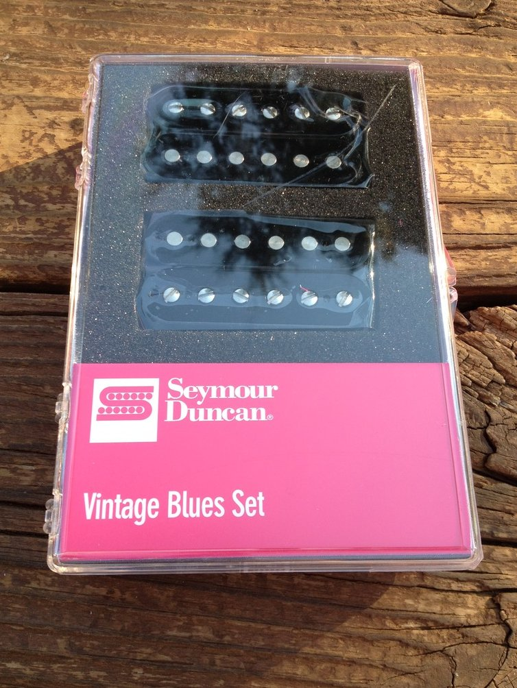 Seymour Duncan Vintage Blues Humbucker Pickup Set SH-1 59 Model Neck and Bridge