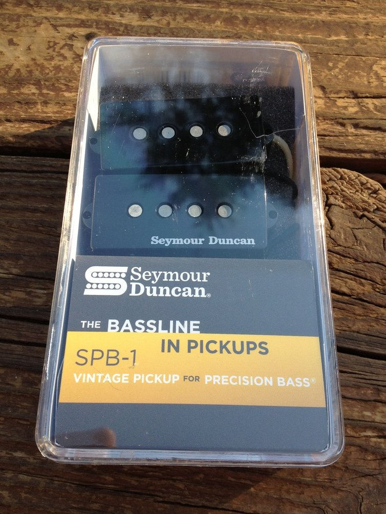 Seymour Duncan SPB-1 Vintage for P-Bass Precision Bass Pickup Set 11401-03