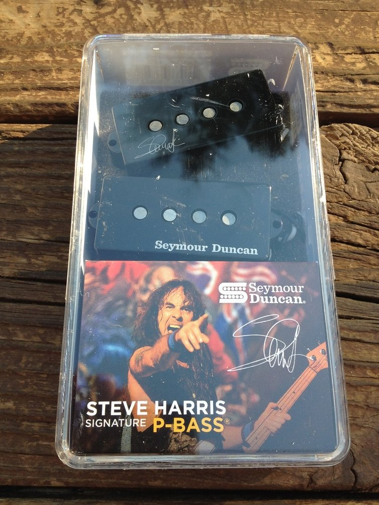 Image 0 of Seymour Duncan SPB-4 Steve Harris Signature Precision P-Bass Pickup 11402-13