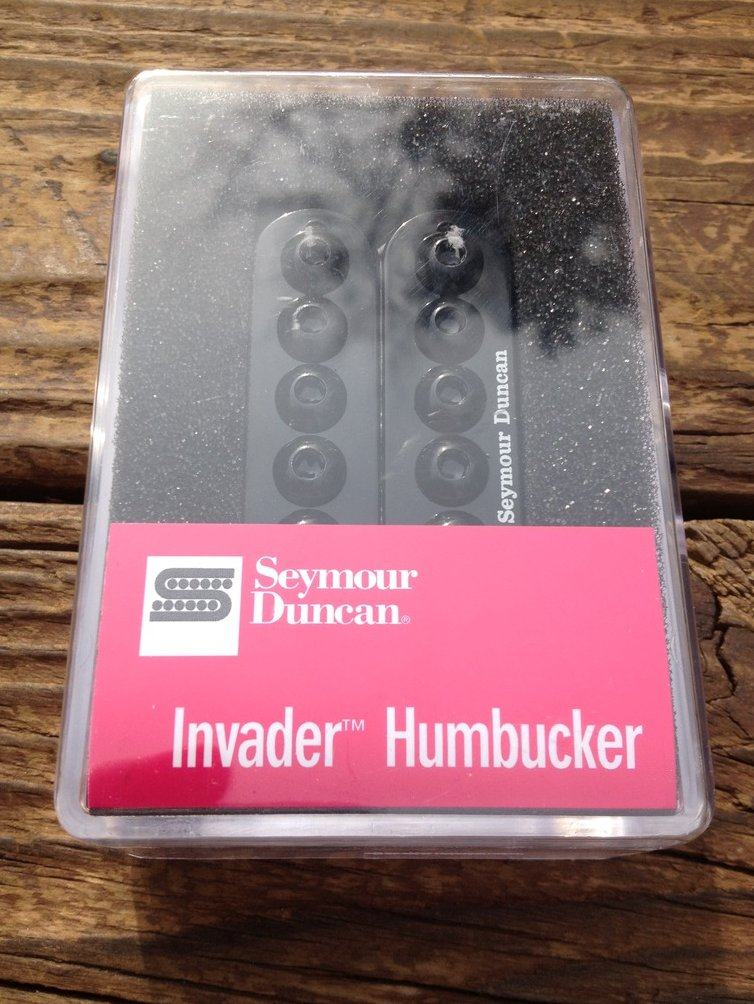 Seymour Duncan  SH-8 Invader Neck Humbucker Guitar Pickup Black SH-8n