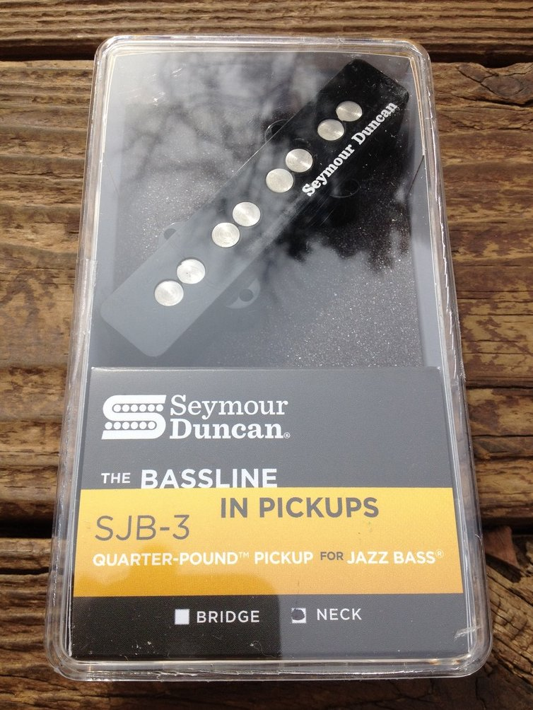 Seymour Duncan SJB-3n Quarter Pound Jazz Bass Pickup Neck Fender J Bass