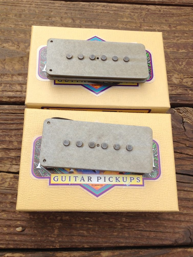 Image 0 of Seymour Duncan Antiquity II Fender Jazzmaster Jam 60's Guitar Pickup Set