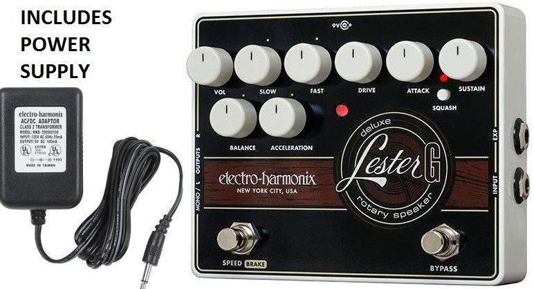 Electro-Harmonix Lester G Deluxe Rotary Speaker Emulator Leslie Guitar Pedal NEW