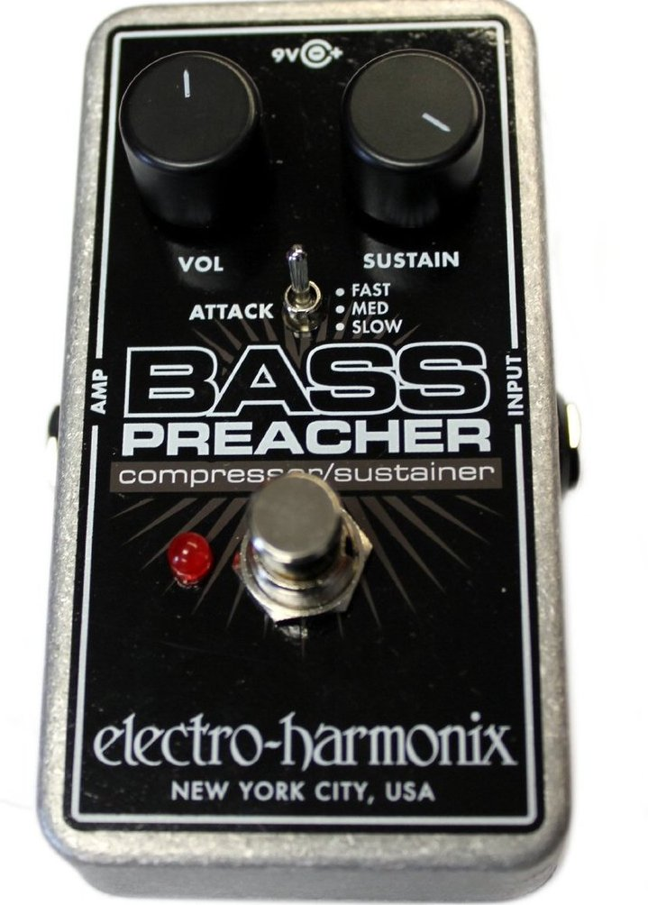 Electro-Harmonix EHX Bass Preacher Compressor Sustainer for Bass Guitar