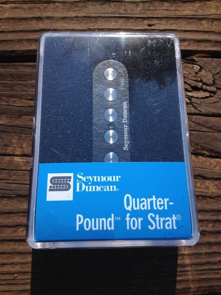 Image 0 of Seymour Duncan SSL-4 Quarter Pound FLAT Strat Pickup RWRP Hot Reverse Wound