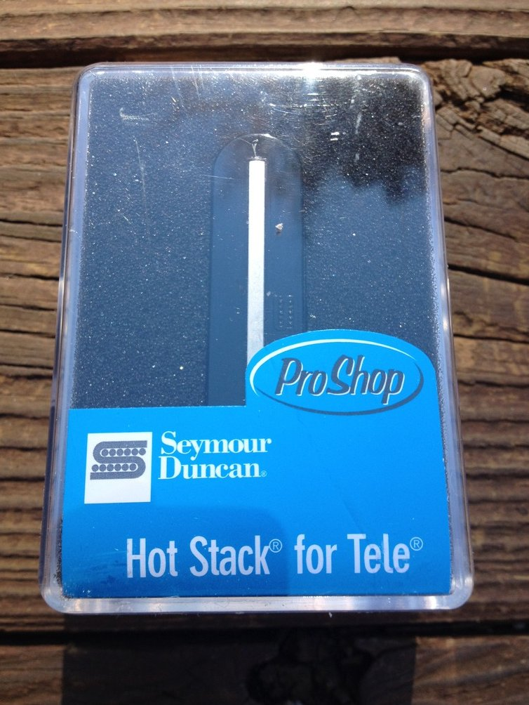 Seymour Duncan STK-T2b Hot Stack for Tele Lead Pickup Telecaster Bridge Black
