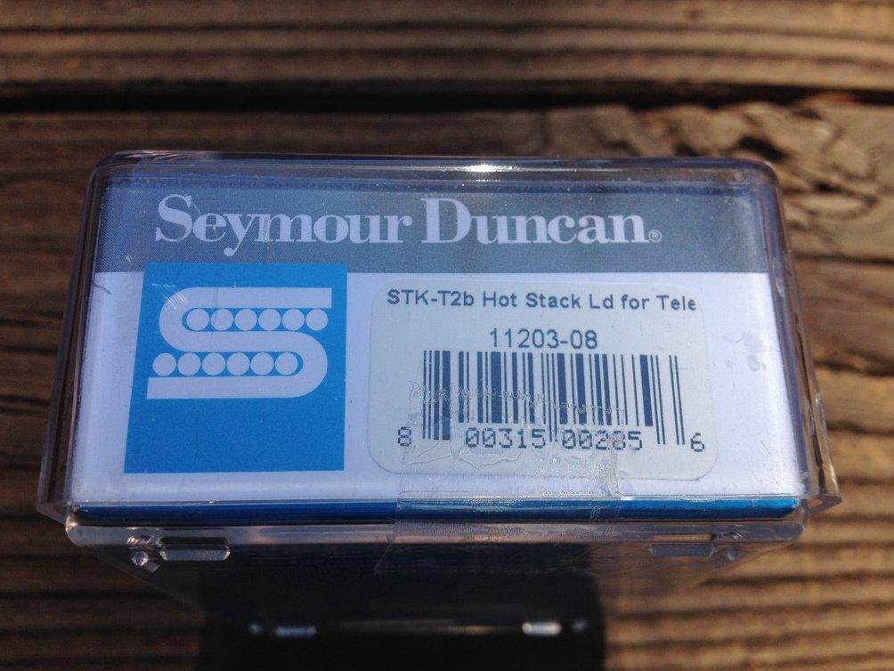 Image 2 of Seymour Duncan STK-T2b Hot Stack for Tele Lead Pickup Telecaster Bridge Black