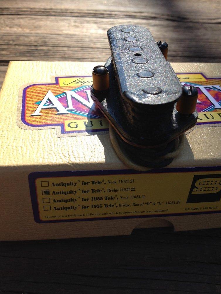 Image 1 of Seymour Duncan Antiquity for Telecaster BRIDGE Pickup Fender Tele