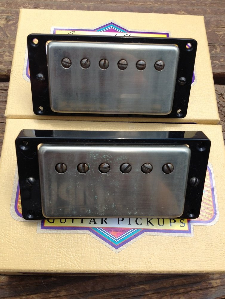 Seymour Duncan Antiquity Humbucker Pickup Set Aged Nickel 1950's P.A.F. Pickups