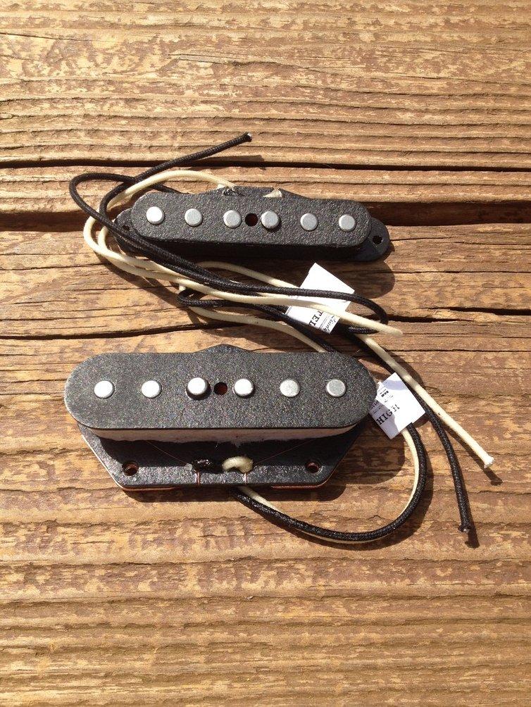 Image 2 of Lindy Fralin High Output Tele PICKUP SET Fender Telecaster HOT Pickups