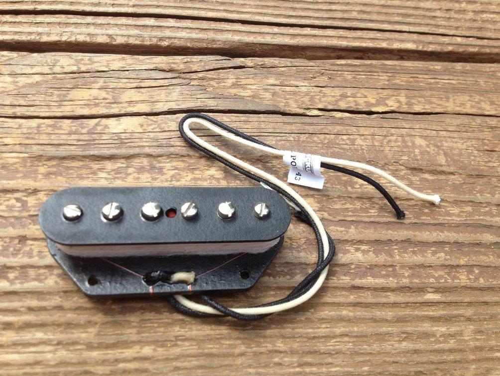 Image 2 of Lindy Fralin STEEL POLE SP43 TELE Bridge Telecaster Pickup - P90 Tone