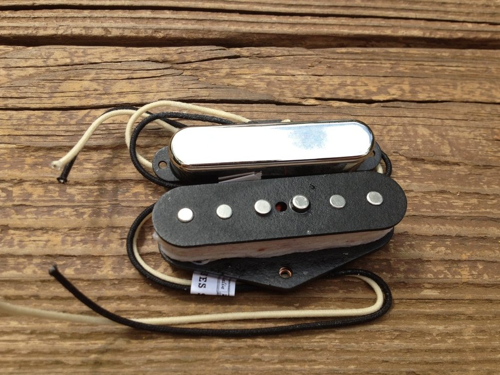 Image 2 of Lindy Fralin Blues Special Tele PICKUP SET 2% Overwound Neck w/ Cover Telecaster