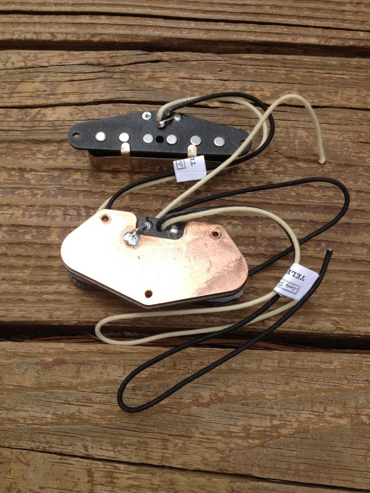Image 3 of Lindy Fralin Stock Tele Pickup Set Fender Telecaster Upgrade