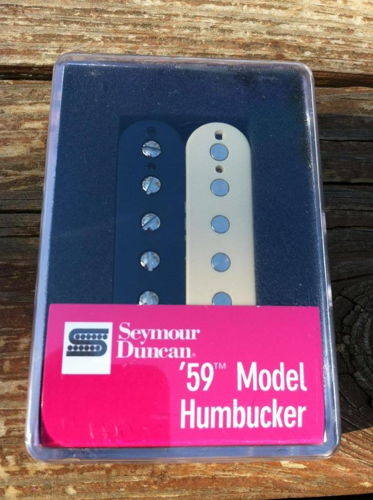 Seymour Duncan SH-1n 59 Model Humbucker PICKUP Neck Reverse Zebra Guitar
