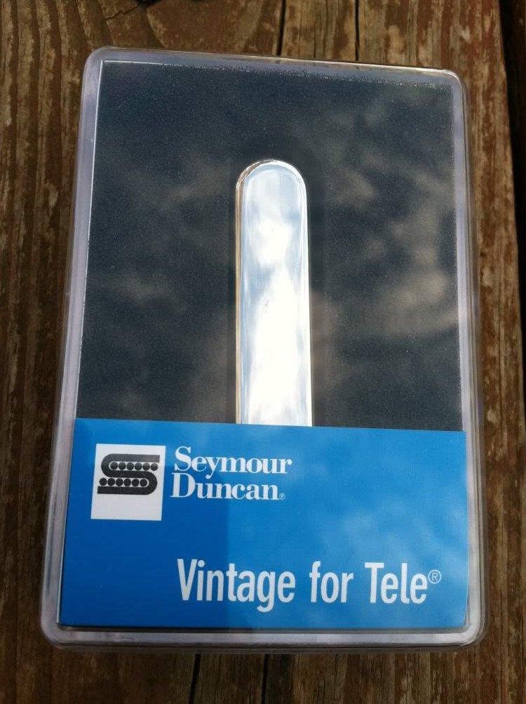 Image 0 of Seymour Duncan STR-1 Vintage Rhythm Tele PICKUP Neck for Fender Telecaster - NEW