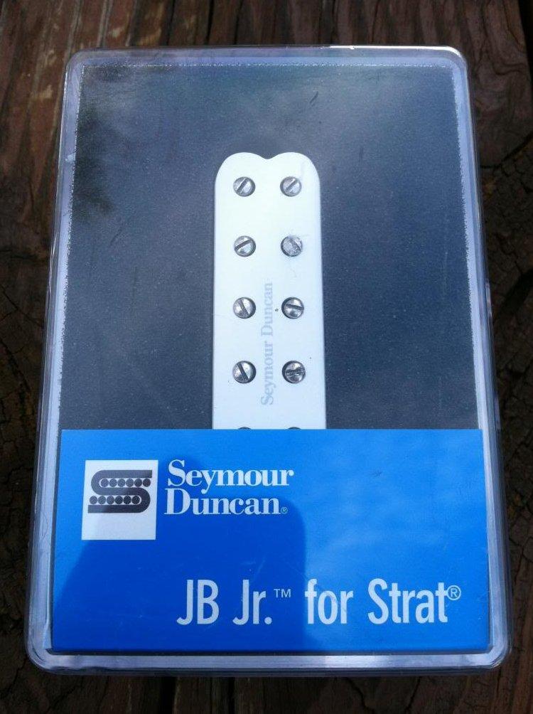 Seymour Duncan SJBJ-1 JB Jr Strat Pickup Middle/Neck WHITE Fender Stratocaster