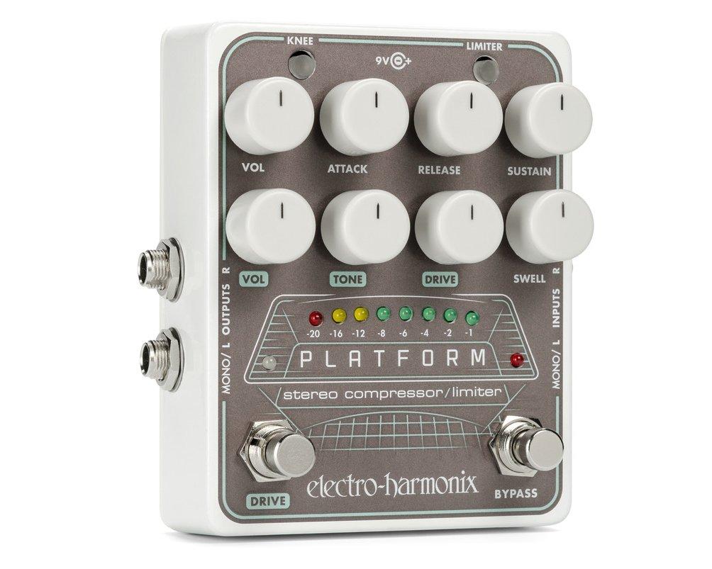 Image 0 of Electro-Harmonix Platform Stereo Compressor Limiter Pedal