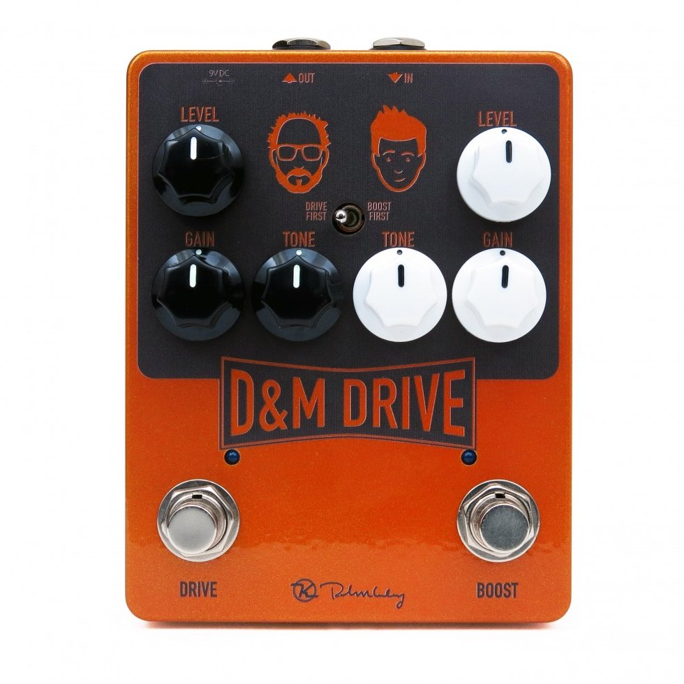 Keeley D&M Drive Pedal Signature Boost / Overdrive Distortion - NEW