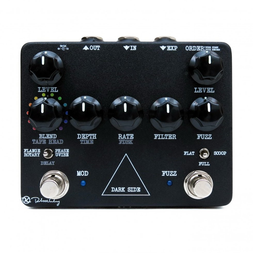 Keeley Dark Side V2 Workstation Fuzz Tape Delay Modulation Guitar Pedal - NEW