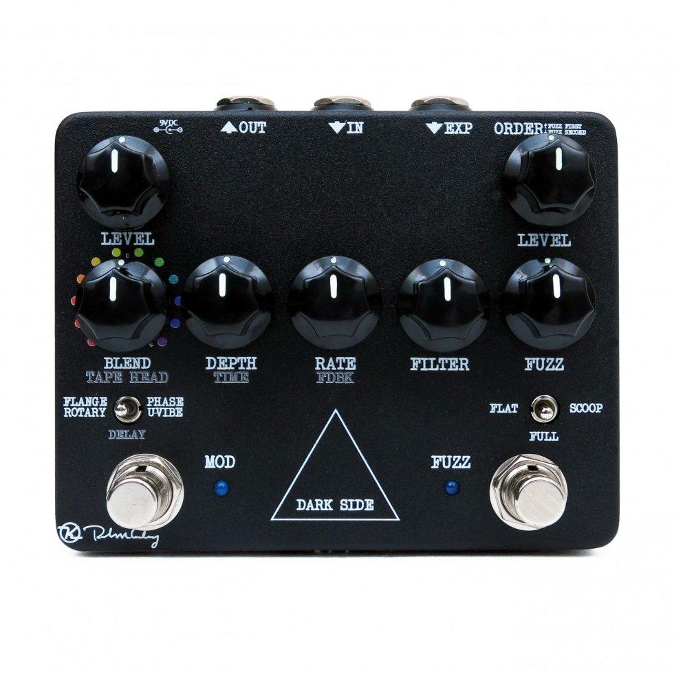 Image 0 of Keeley Dark Side V2 Workstation Fuzz Tape Delay Modulation Guitar Pedal - NEW