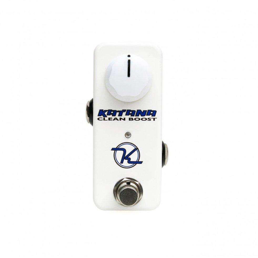 Image 0 of Keeley Katana Mini Clean Boost Guitar Effect Pedal - NEW