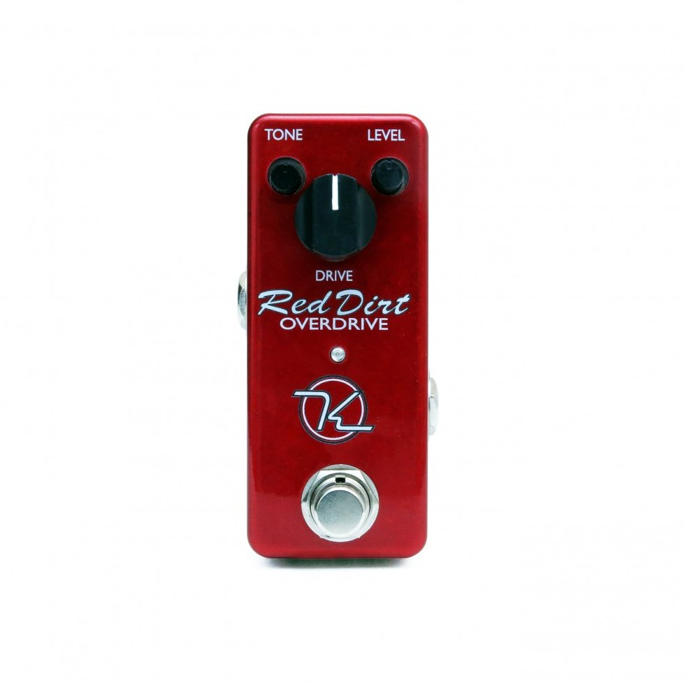 Image 0 of Keeley Red Dirt Mini Overdrive Distortion Guitar Effect Pedal - NEW