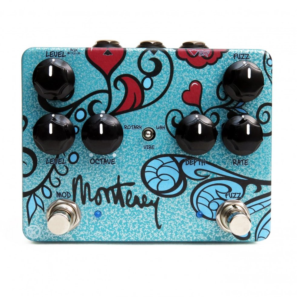 Image 0 of Keeley Monterey Rotary Fuzz Vibe Guitar Effects Pedal Monterrey - NEW