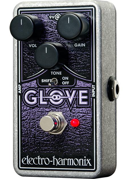 Electro-Harmonix EHX OD Glove Nano Overdrive Distortion Pedal NEW