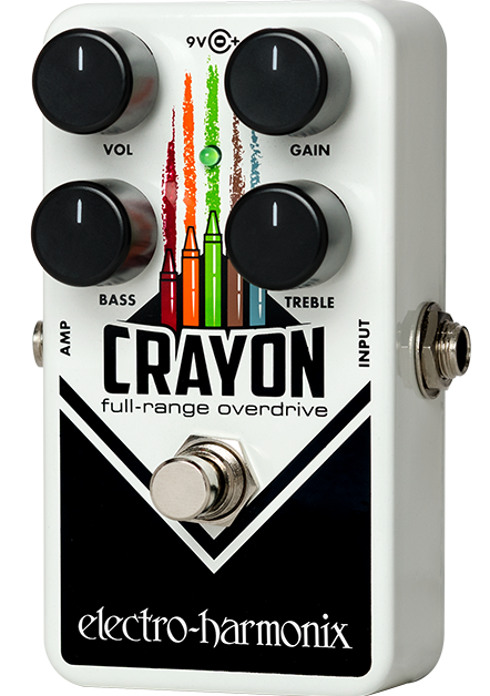 Electro Harmonix Crayon 69 Full Range Overdrive Guitar Effects Pedal EHX