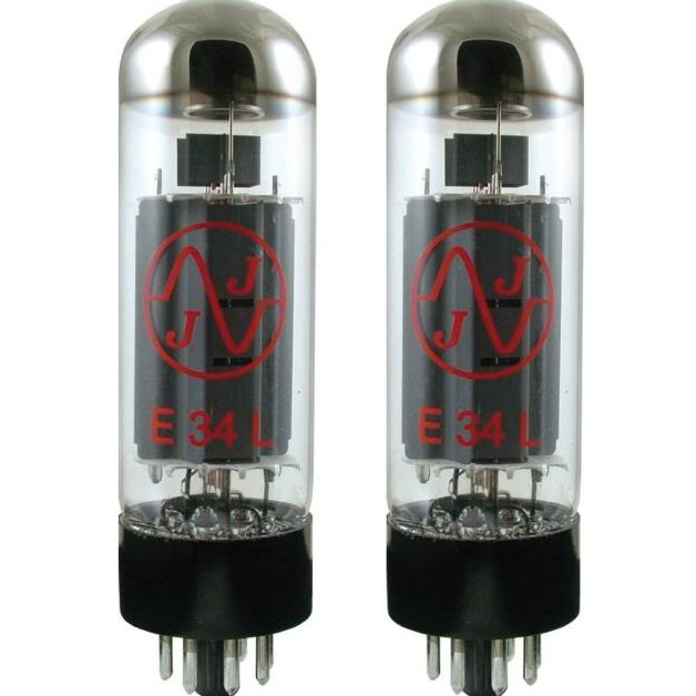 NEW JJ Tesla EL34L Matched Pair Power Amp Tubes EL34L Guitar Amplifier Marshall