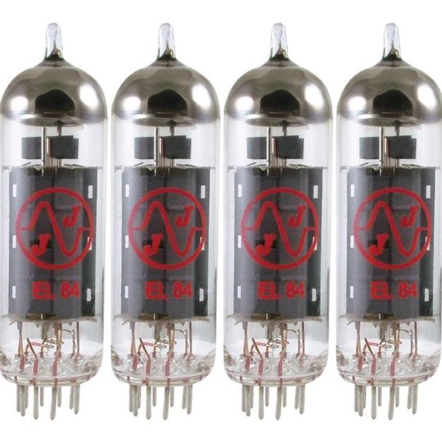 NEW JJ Tesla EL84 Matched Quad Power Amp Tubes Valve Guitar Amplifier Fender Vox