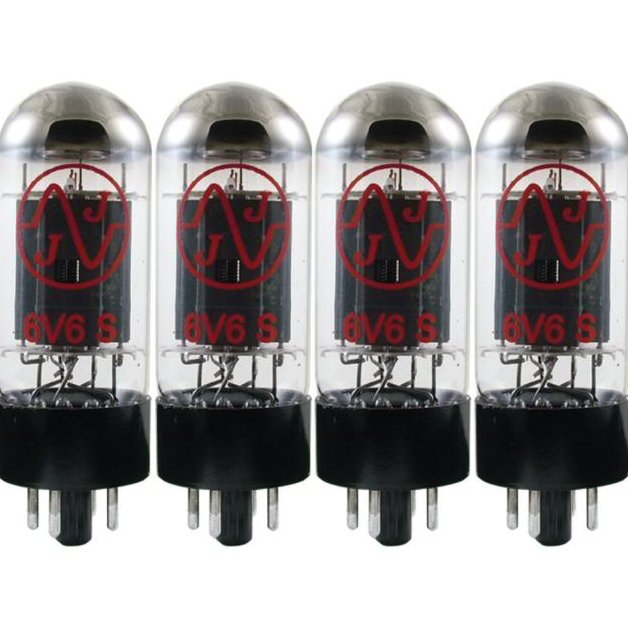 NEW JJ TESLA 6V6S Power Amp Tube Matched Quad Fender Vox Mesa Marshall Amplifier