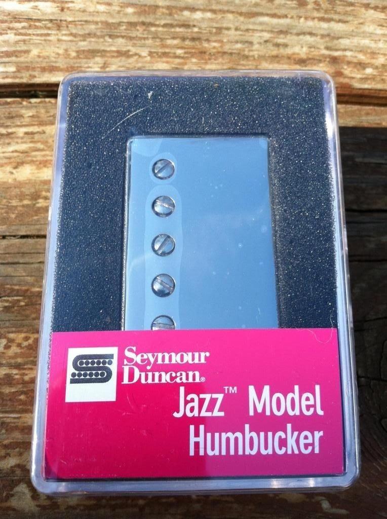 Image 3 of Seymour Duncan Sh-2n Jazz SILVER Nickel Humbucker Electric Guitar Pickup