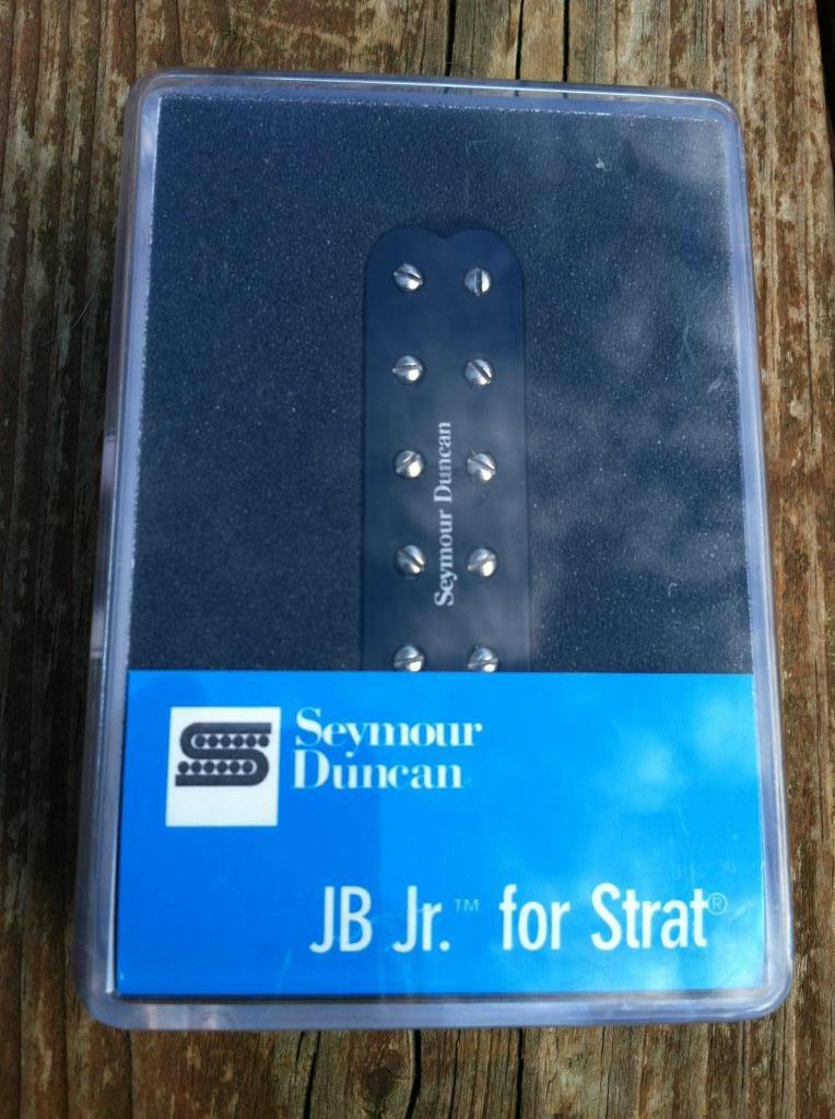 Image 3 of Seymour Duncan SJBJ-1b JB Jr Strat Pickup BRIDGE BLACK - Fender Stratocaster NEW