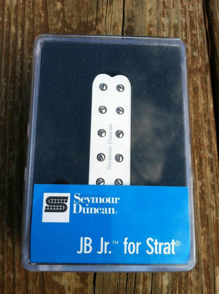 Image 3 of Seymour Duncan SJBJ-1b JB Jr Strat Pickup BRIDGE WHITE - Fender Stratocaster NEW