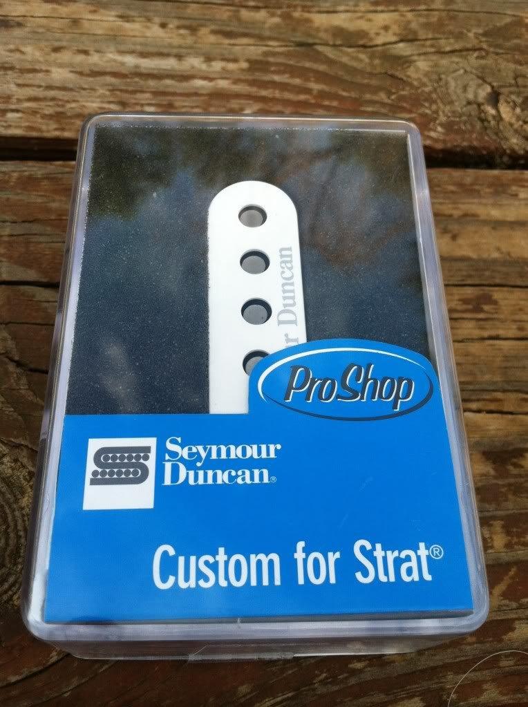 Image 3 of Seymour Duncan SSL-6 Custom For Strat PICKUP White for Fender Stratocaster NEW