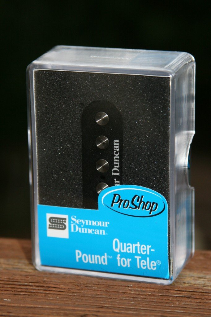 Image 2 of Seymour Duncan STL-3 Quarter Pound Tele Bridge Guitar Pickup Fender Telecaster