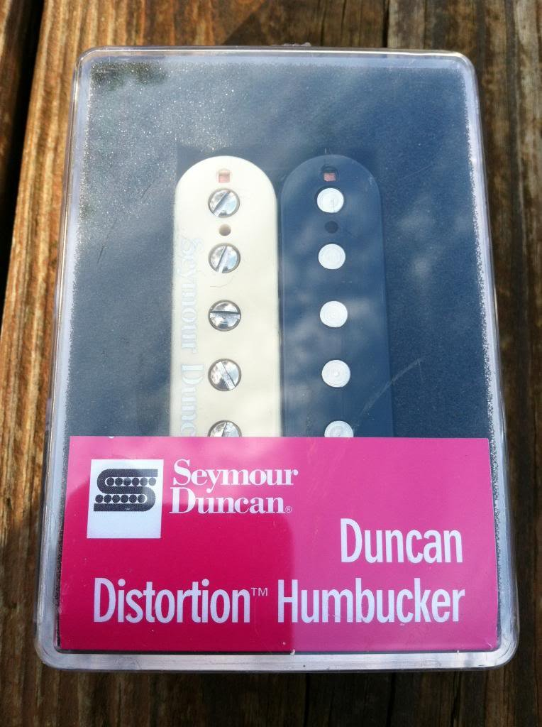 Image 3 of Seymour Duncan Distortion SH-6 Humbucker Pickup Bridge ZEBRA - NEW