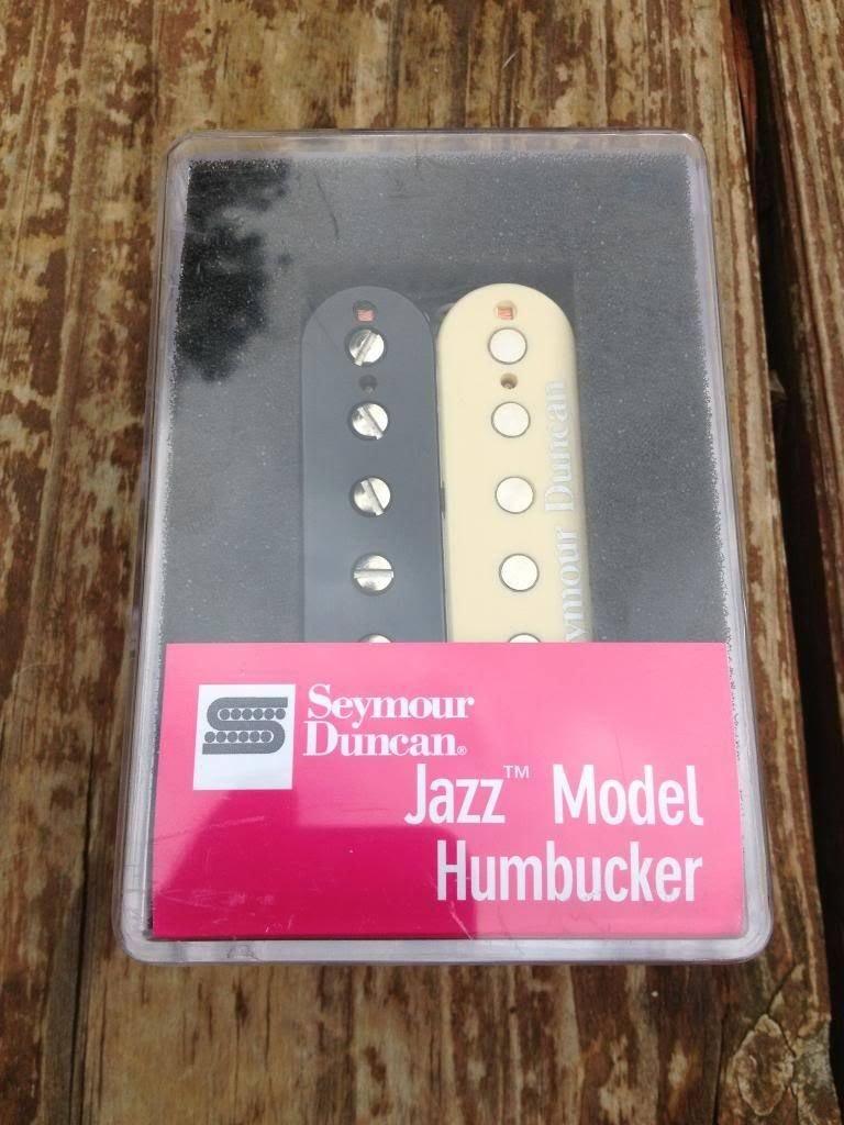Image 3 of Seymour Duncan SH-2 Jazz Humbucker Guitar Pickup REVERSE ZEBRA Neck Rhythm - NEW
