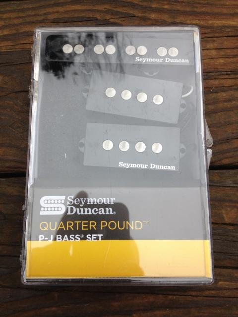 Image 3 of SEYMOUR DUNCAN Quarter Pound P/J Bass Guitar Pickup Set Fender Precision / Jazz