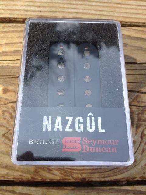 Image 3 of Seymour Duncan Nazgul 6 String Bridge Humbucker Pickup BLACK NEW
