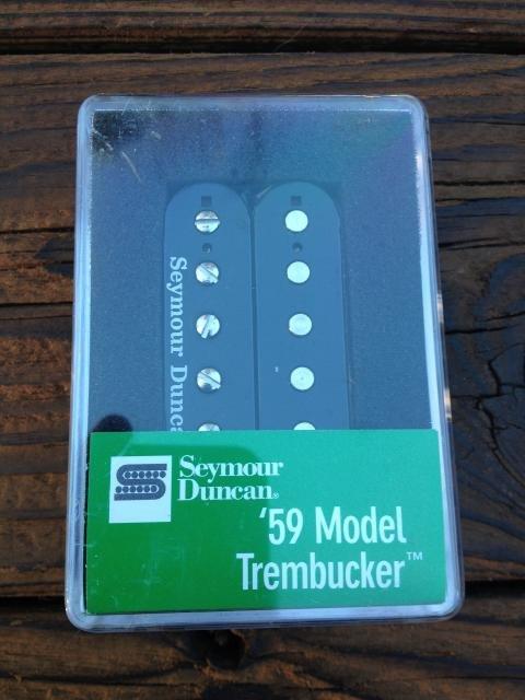 Image 3 of Seymour Duncan TB-59 Bridge Trembucker BLACK Humbucker Guitar Pickup 59 Model